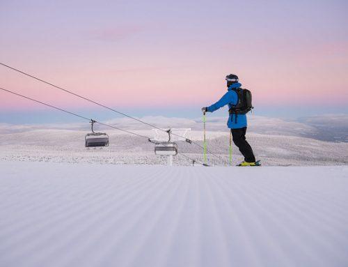 Fortsatt godt besøk i alpinanleggene